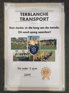 Rugby by Laerskool Hartenbos